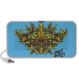 MAZO by smokeINbrains Laptop Speaker