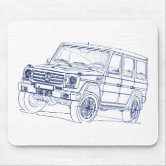 MB G class 2013 Mouse Pad