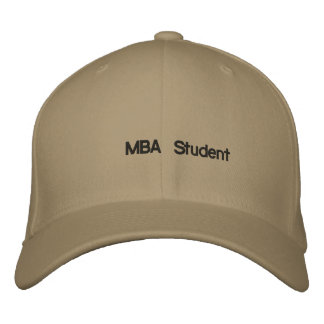 MBA Student Baseball Cap