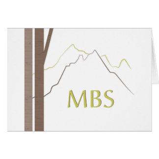 MBS Bar Mitzvah 2013 thank you notecard