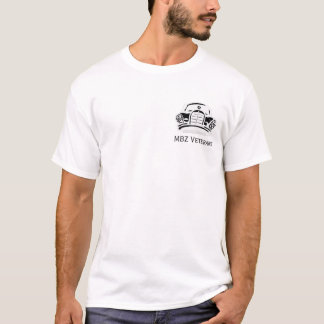 MBZ Veterans Members Tee Small Logo