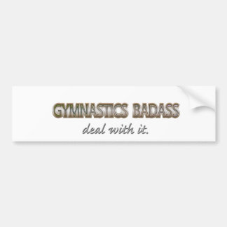 mc13  GYMNASTICS Bumper Sticker