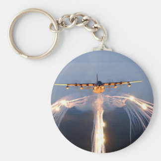 Mc-130 Basic Round Button Key Ring