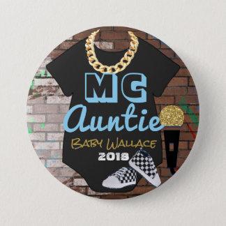 MC Auntie-90's Hip Hop Throwback{BOY}Favour Button