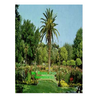 Mc Kinley park Sacramento post card