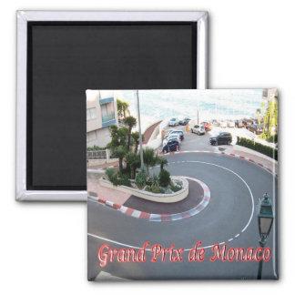 MC - Monaco - Grand Prix - Monaco Magnet