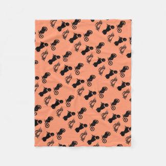 MC Pattern Fleece Blanket