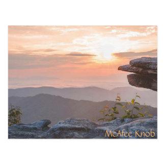 McAfee Knob postcard