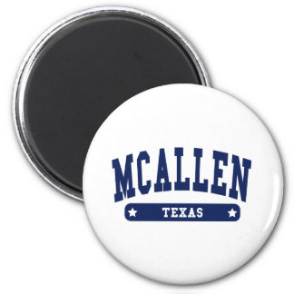 McAllen Texas College Style tee shirts Fridge Magnets