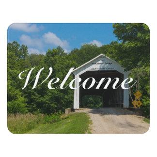 McAllister Bridge Door Sign