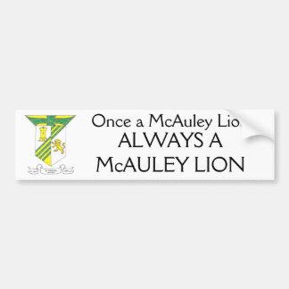McAuley High School Coat of Arms Bumper Sticker
