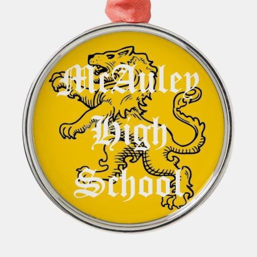 McAuley High School Ornament