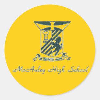 McAuley High School Sticker