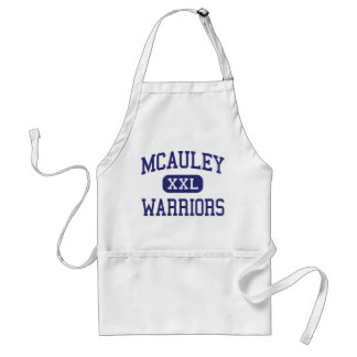 McAuley - Warriors - Catholic - Joplin Missouri Standard Apron