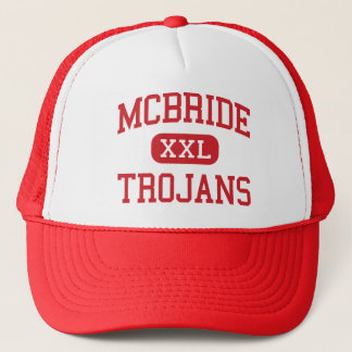 McBride - Trojans - Middle - Muscle Shoals Alabama Trucker Hat