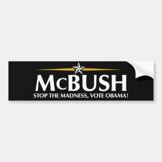 McBush Anti-McCain Bumper Sticker