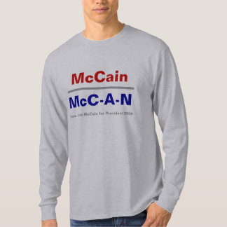 McC-A-N - - Long Sleeve Tee