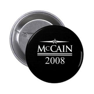 MCCAIN 2008 T-SHIRT BUTTONS