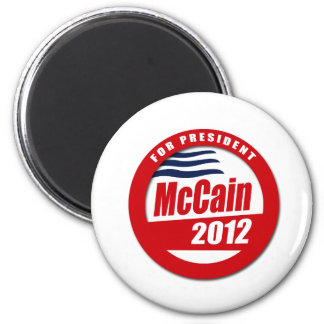 McCain 2012 button Refrigerator Magnet