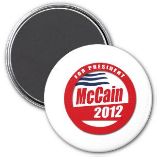 McCain 2012 button Fridge Magnet