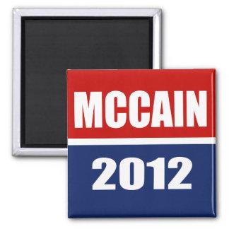 MCCAIN 2012 MAGNET