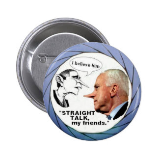 McCain Bush Button