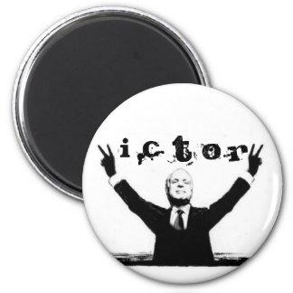 McCain cartoon magnet