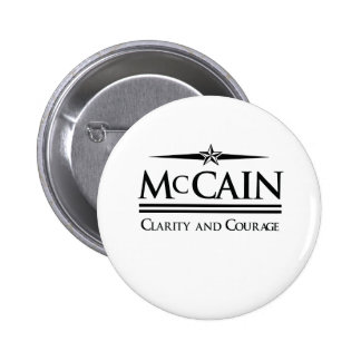 MCCAIN CLARITY AND COURAGE PINS
