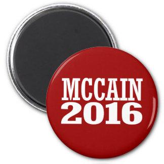 McCain for Senate 2016 6 Cm Round Magnet