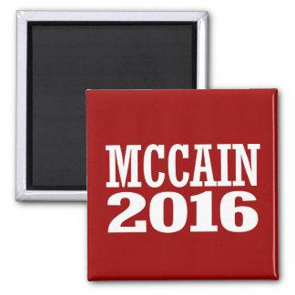 McCain for Senate 2016 Square Magnet