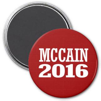 McCain for Senate 2016 7.5 Cm Round Magnet