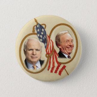 McCain/Lieberman Button