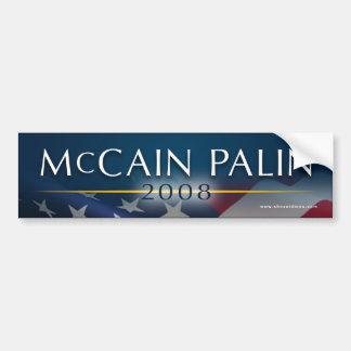 McCain Palin 2008 Bumper Sticker Car Bumper Sticker