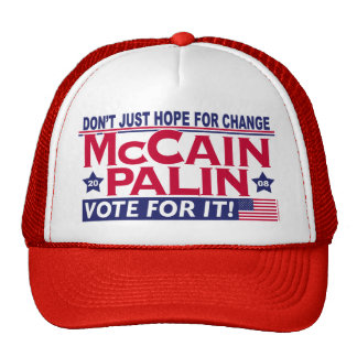 McCain Palin 2008 Trucker Hats
