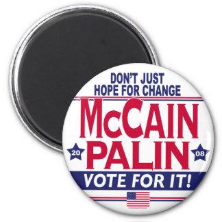 McCain Palin 2008 Refrigerator Magnet