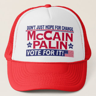 McCain Palin 2008 Trucker Hat