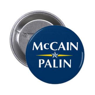 McCain/Palin Button