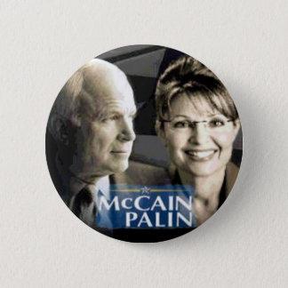 McCain Palin Button