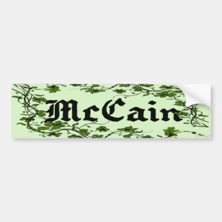 McCain Palin Cool Unique Ivy Bumper Sticker