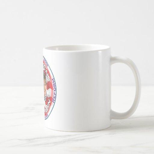 McCain Palin Country First Classic White Coffee Mug
