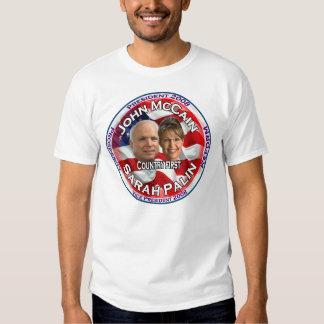 McCain Palin Country First Shirts