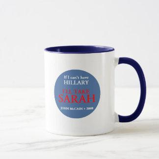 McCain Palin HILLARY Mug
