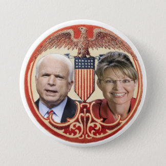 McCain / Palin Retro Button