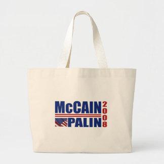 McCain Palin Tote Bags