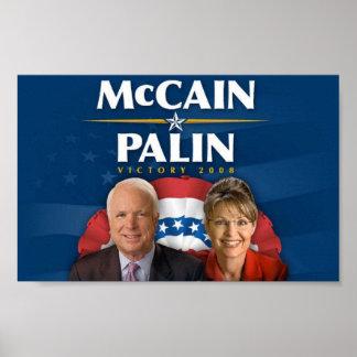 McCain-Palin Victory 2008 Poster