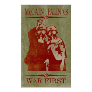 McCain Palin War First Poster