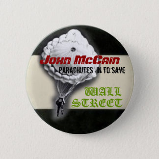 McCain Parachuting Button