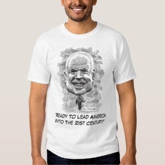 "McCain ""Ready To Lead America T-shirts"