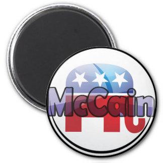 McCain Republican Design Refrigerator Magnet