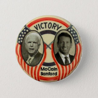 McCain & Sanford 6 Cm Round Badge